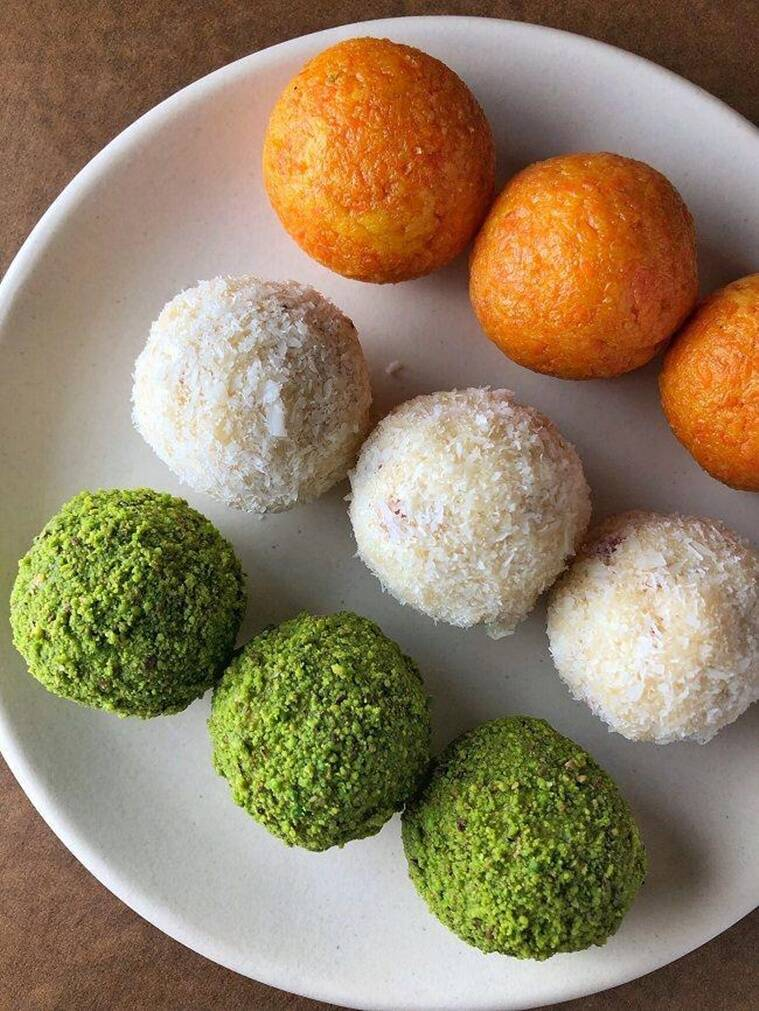 Wish your loved ones a happy Independence Day with these ladoos. (Source: Head chef Ritesh Shabani from Madchef)