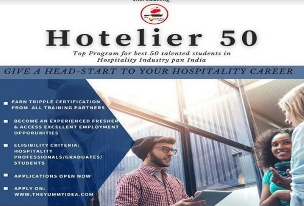 'HOTELIER 50' Programme, a silver lining for hospitality students and professionals